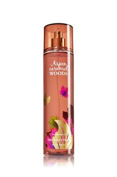 Aspen Caramel Woods Fine Fragrance Mist - Signature Collection - Bath & Body Works