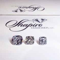 Color is one of the most important aspects of a diamond's value and beauty. When viewing and comparing diamonds, you should view them unmounted and laying on a white piece of paper. #shapirodiamonds #diamondeducation
