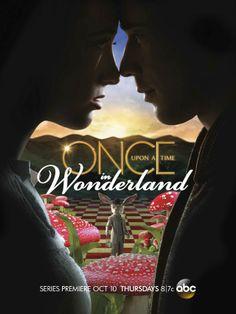 Once Upon a Time in Wonderland, ga ik straks kijken ben benieuwd. Nieuwe serie over alice in wonderland