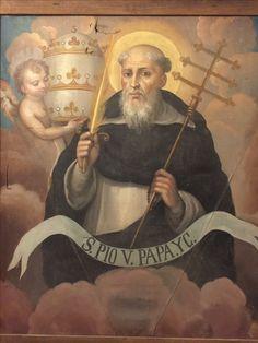 Pope St. Pius V. Santo Domingo Convent, Caleruega, Spain