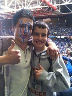 UK fan Josh Hutcherson kentucky-wildcats