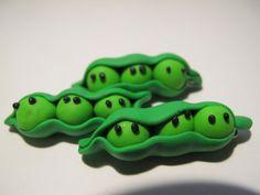 Polymer Clay Peas! :D