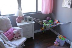 Toy Hammock, Organization Skills, Storage Solutions, Toddler Bed, Plush, Blanket, Toys, Furniture, Home Decor
