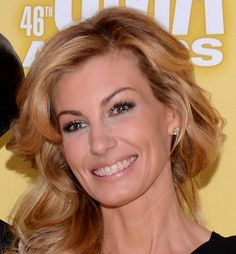 Faith Hill with braces -What an Inspiration.... You're never too old to get them fixed!