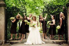 brown bridesmaids dresses 2014 - Google Search