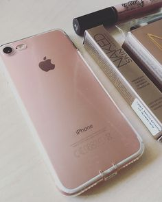 Iphone rose gold + urban decay Mp3 Player, Urban Decay, Rose Gold, Iphone, Stuff To Buy