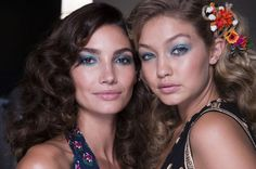 How to wear blue eye make-up  - HarpersBAZAAR.co.uk