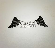 Hey, I found this really awesome Etsy listing at https://www.etsy.com/listing/184425311/supernatural-inspired-castiel-is-my-co