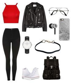 """polyvore"" by jesy-smith on Polyvore featuring mode, Acne Studios, WearAll, Topshop, Converse, Proenza Schouler, ZeroUV, Daniel Wellington, Prada et Casetify"