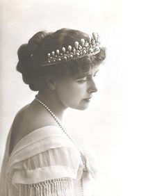 Her Majesty Queen Marie of Romania   1875 - 1938