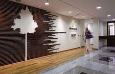 Arquitetura de interiores na nova sede da Bracelpa   aU - Arquitetura e…