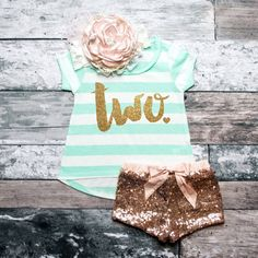 2nd Birthday Shirt Baby Girl Birthday Party by ShopVivaLaGlitter