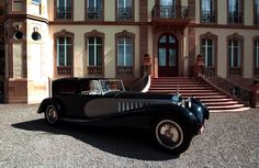 Bugatti Type 41 Royale Coupe de Ville by Binder. Classic and antique cars. Sometimes custom cars but mostly classic/vintage stock vehicles. Bugatti Royale, Bugatti Cars, Bugatti Veyron, Lamborghini, Vintage Cars, Antique Cars, Volkswagen, Goodwood Festival Of Speed, Architecture
