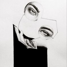 1700 by IoannisVgoudes#drawing #sketch #art #project #portrait #dots #dotted #blackwork #tattoo #idea #deviantart #eyes #woman #face #minimal #ink #blackandwhite #hand #lines #16 #jawny_gou