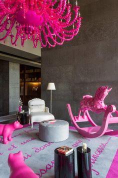 LUXURY FURNITURE | Philippe Starke genius in action! Awesome interior in Panama on YOO 9612 | www.bocadolobo.com/ #luxuryfurniture #designfurniture