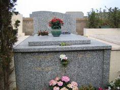 Pierre Bachelet au cimetière de St Tropez