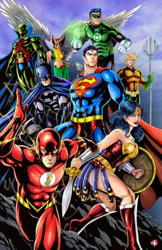 DC Justice League by WiL-Woods on DeviantArt