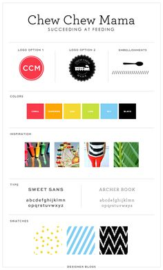 Featured Design | Chew Chew Mama-DesignerBlogs.com