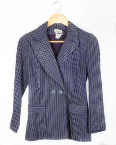 Vintage 70s 80s 'Katies' Cord Jacket in Navy And by FannyAdamsVC