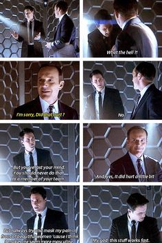 """When Coulson and Hill played Pictionary. 