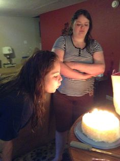 Blowing out mah candles