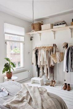 EN MI ESPACIO VITAL: Muebles Recuperados y Decoración Vintage: La transformación de un dormitorio { Before & After bedroom }