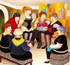 Welcome to the Beryl Cook shop. We stock the definitive collection of Beryl Cook Limited editions and other Beryl Cook prints. Beryl Cook, Plus Size Art, English Artists, Fat Women, Cute Art, Street Art, Cooking, Artwork, Prints