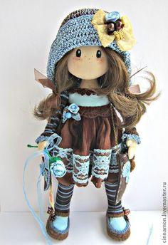 Кукла текстильная Ручной работы Vianne - текстильная кукла,интерьерная кукла