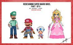 Redesigning Super Mario Bros. Part 1