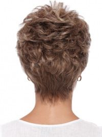 Wigsis provides variety of Boycuts Wavy Synthetic Comfortable Short Wigs with good customer service and fast shipment, including short curly wigs,short brown wig for customer. Short Hair With Layers, Short Hair Cuts For Women, Layered Hair, Back Of Short Hair, Cute Hairstyles For Short Hair, Short Hairstyles For Women, Short Hair Styles, Short Haircuts, Stylish Haircuts