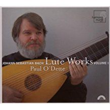 BACH. Lute Works Vol.1. O'Dette