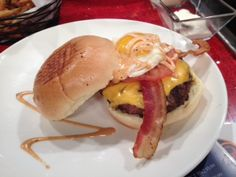 Sunday Brunch Burger from BRGR 9.  Click the pic for the recipe.