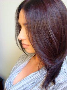 mahogany hair colours - Google Search