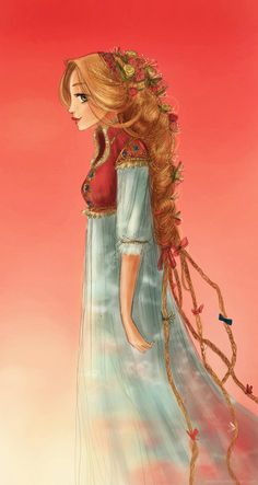 Dawn clouds (Rapunzel) by ~Arbetta on deviantART
