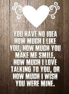 Quotes and inspiration about Love   QUOTATION – Image :    As the quote says – Description  No, cause if you knew… you'd be mine already