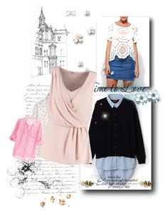 """Blouses"" by luobruce on Polyvore"