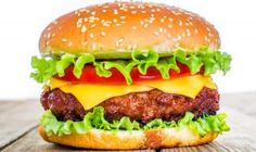 Buy Tasty and appetizing hamburger cheeseburger by cookelma on PhotoDune. Tasty and appetizing hamburger cheeseburger Louis Lunch, Burger Recipes, Grilling Recipes, Diet Recipes, Recipies, C'est Bon, Serving Platters, Ground Beef, Tasty