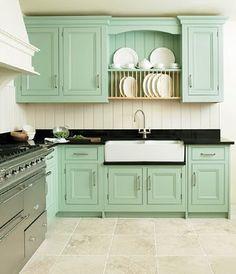 cabinet color.