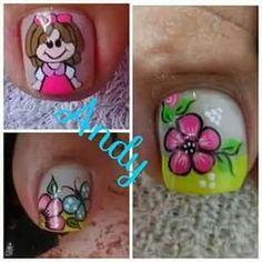 Manicure And Pedicure, Toe Nails, Iris, Nail Designs, Nail Art, Beauty, Makeup, Toenails, Nail Art Designs
