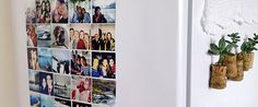 DIY: imã de geladeira com foto