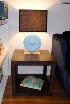 Ooooh simple hack. Ikea Lack tables that I have, could buy 2 more. Take tops…