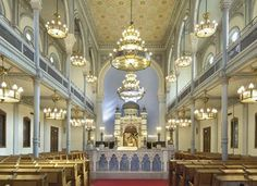 THE ANTWERP SYNAGOGUE IN BELGIUM  A magnificient architectural landmark in the Flanders capital, that serves the dynamic Jewish Community in the city.