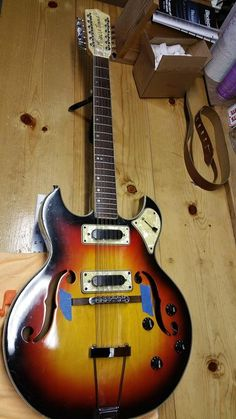 vintage greco guitars