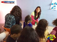#MissKathy con los niños de 3 y 4 años de edad en #VidaKids