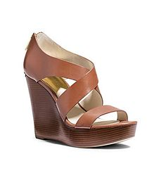 MICHAEL Michael Kors Elena Wedge Sandals #Dillards