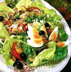 Оригинальный и простой в приготовлении салат Нисуаз для настоящих гурманов