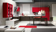 ARREX LE CUCINE brings a versatile range of modern kitchens designed in variety of finishes and colors in a large number of materials.