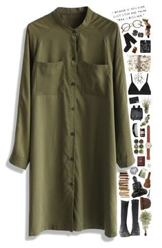 """03:11:15"" by alex-fox1 ❤ liked on Polyvore featuring Retrò, Chicwish, Dr. Martens, H&M, Topshop, Aesop, Nearly Natural, Allstate Floral, Proenza Schouler and Tea Collection"