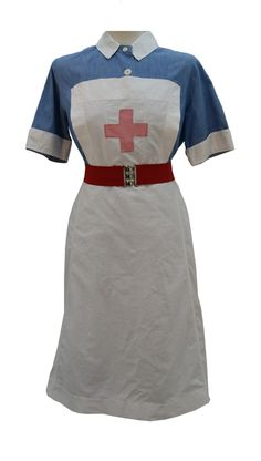 1940s Nurse Uniform 11. I would love to wear this to work