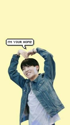 I'm your angel  I'm JHOPE